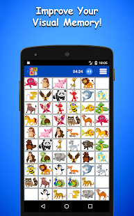 Animals Memory Game - náhled
