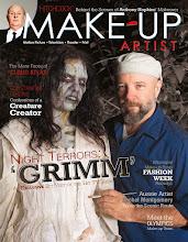 Photo: Cover for Make-Up Artist magazine #99
