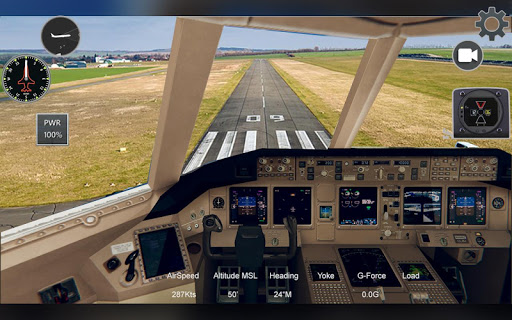 Extreme Airplane simulator 2019 Pilot Flight games apkpoly screenshots 3