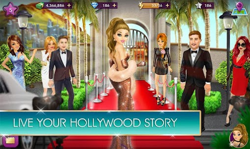 Hollywood Story Mod 9.0 Apk [Unlimited Money/Diamonds] 1