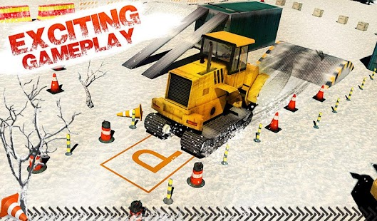 Super SnowCat Parking 2017- screenshot thumbnail
