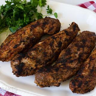 Spicy Grilled Pork Tenderloin.