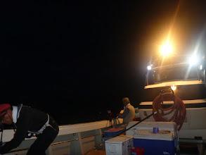 Photo: 日も沈み、「夜タキ」スタート!