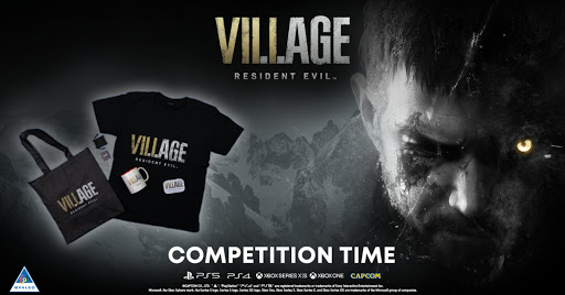 We're giving away Resident Evil Village and a merch hamper