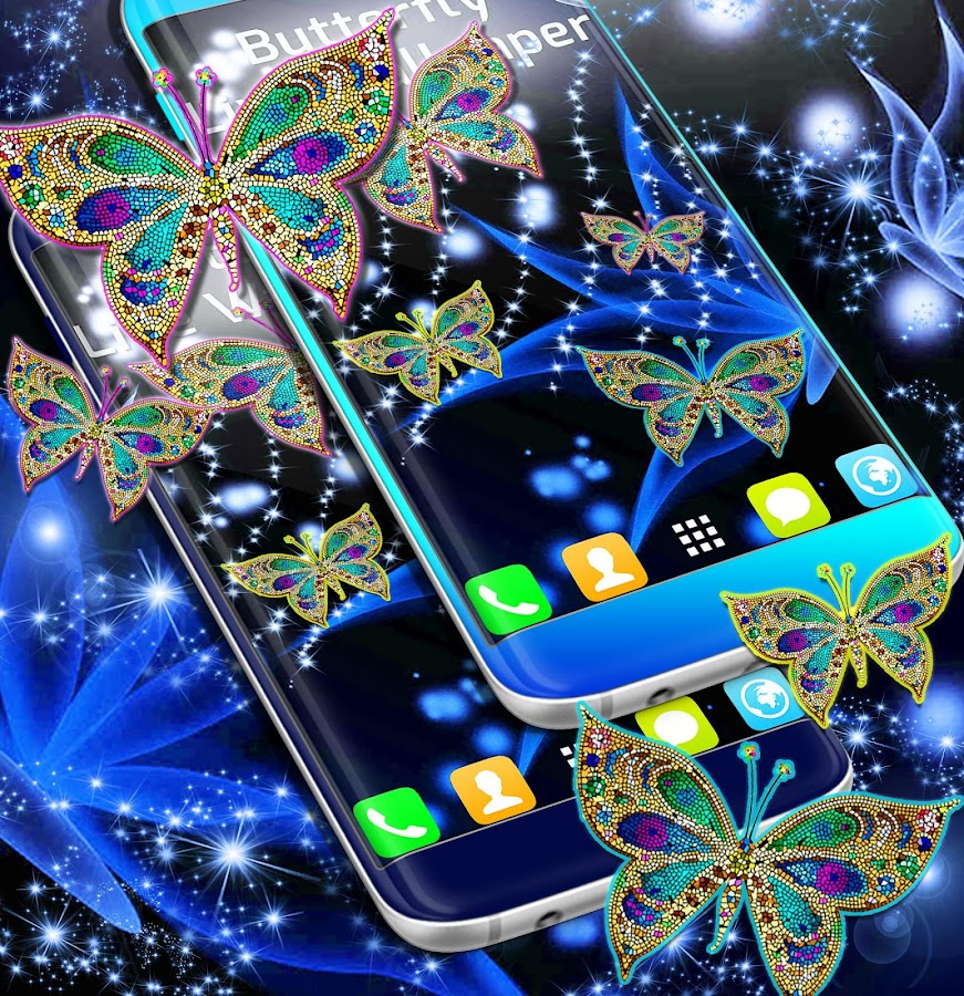 Google Calendar Live Wallpaper : Butterfly live wallpaper android apps on google play