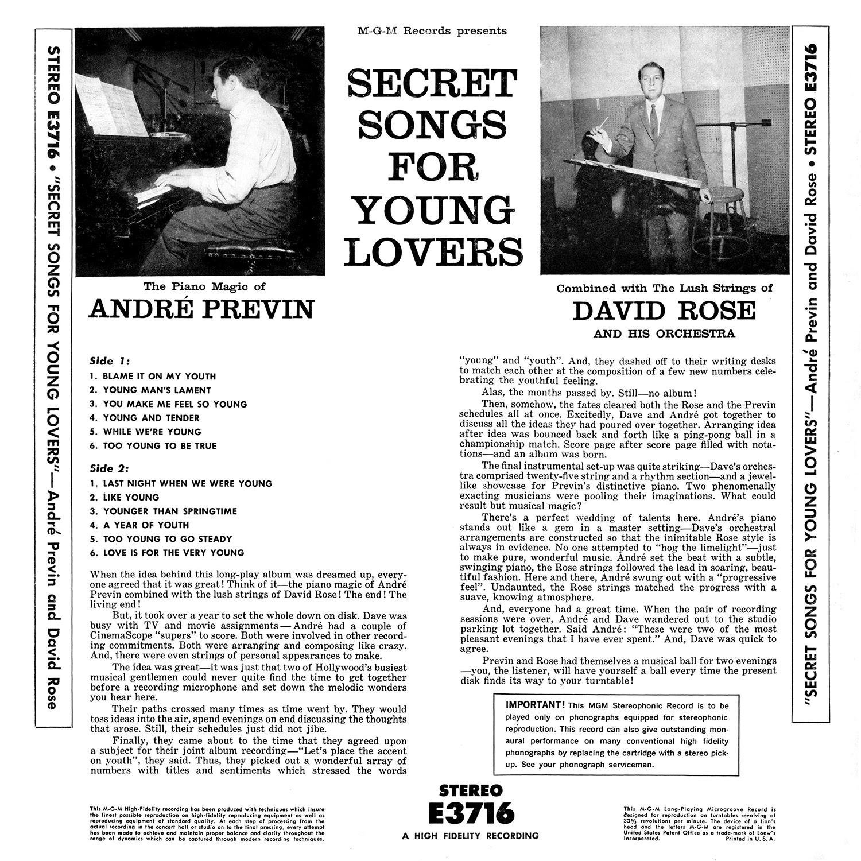 André Previn, David Rose