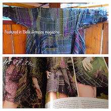 """Photo: 2014 my """"art of the vintner jacket""""  was featured in Belle Armoire Magazine"""
