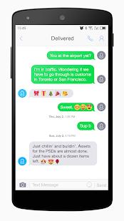One SMS - New Emoji,GIF - náhled