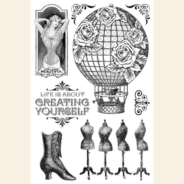 Create Yourself—Clear Acrylic Stamps