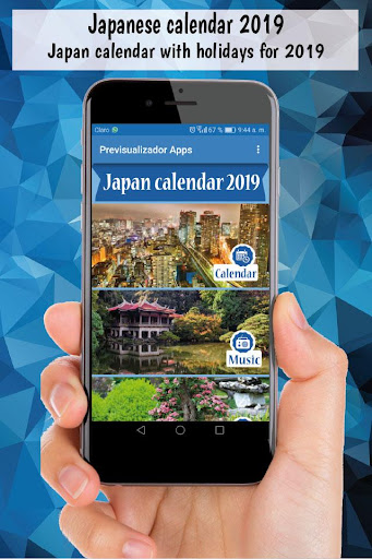 Japanese calendar 2019, japan calendar holidays  PC u7528 1