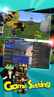 Multiplayer for Minecraft PE - MCPE Servers Screenshot