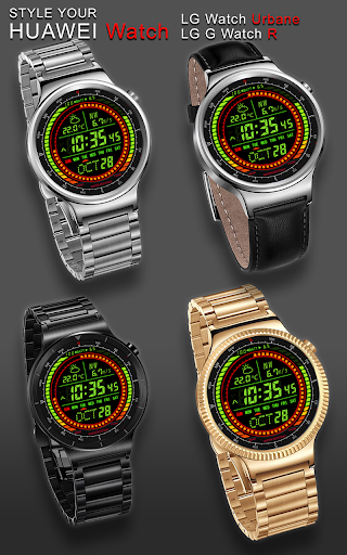 F02 WatchFace for LG G Watch R