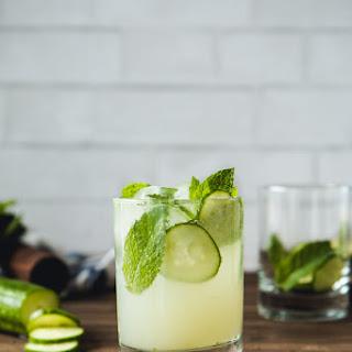 Cucumber & Mint Mojito.