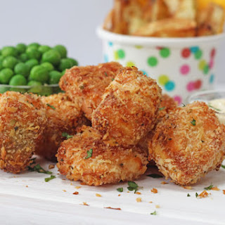 Crispy Baked Salmon Nuggets