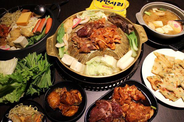 愛樂廚房-公館烤肉吃到飽/399元銅盤烤肉吃到飽/公館商圈平價韓式烤肉/韓式自助吧