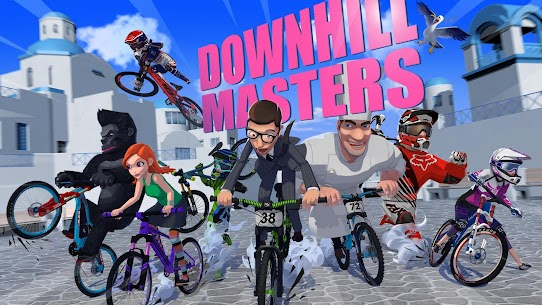 Downhill Masters 8