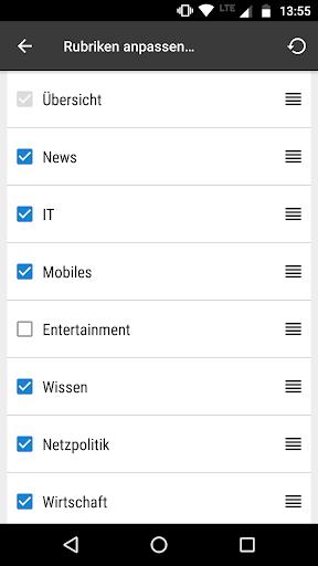 heise online - News 3.4.2 screenshots 8