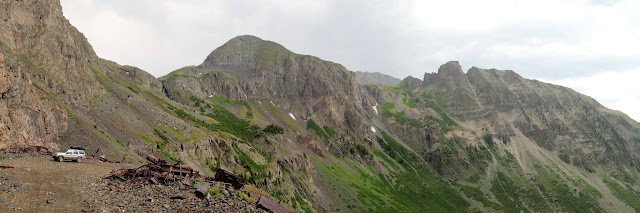 Panorama from the Mayflower Mine