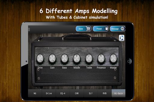 Guitar Amp & Guitar FX Pedals screenshot 5