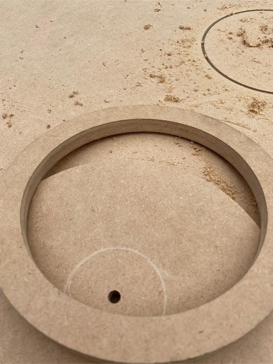 インプレッサ スポーツ GP6のインナーバッフル自作,アウターバッフル,オーディオ,自由錐,スピーカーに関するカスタム&メンテナンスの投稿画像3枚目