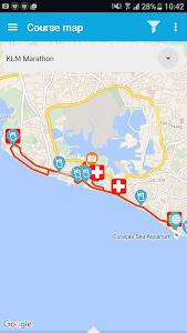 KLM Curaçao Marathon screenshot 2