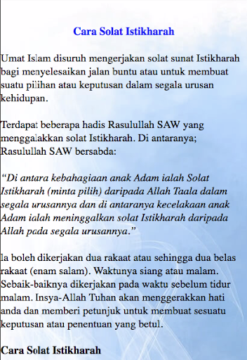 Solat Istikhoroh : solat, istikhoroh, ✓[2021], SOLAT, ISTIKHARAH, Download, Android, [Latest]