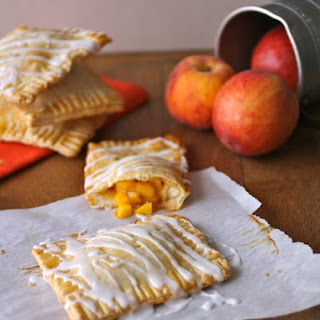 "Fresh Peach Pie ""Pop Tarts"""