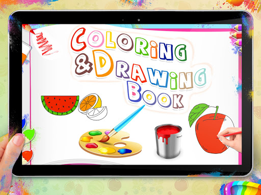 Fruits Coloring Book - Kids Coloring Book 1.0.0 screenshots 4
