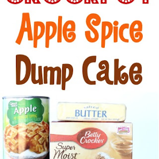 Crock Pot Dump Cake {apple spice}.