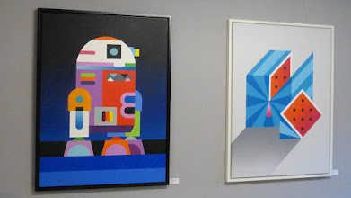 """Photo: Galerie Pretty Portal; DOPPELDENK """"NUMBERS""""; R2D2"""
