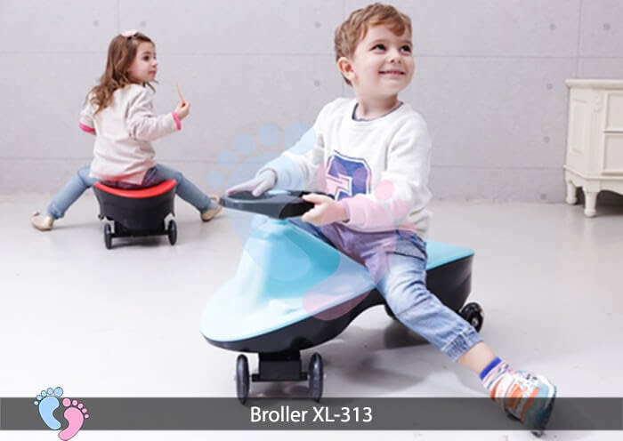 Xe lắc cho bé Broller XL 313 3