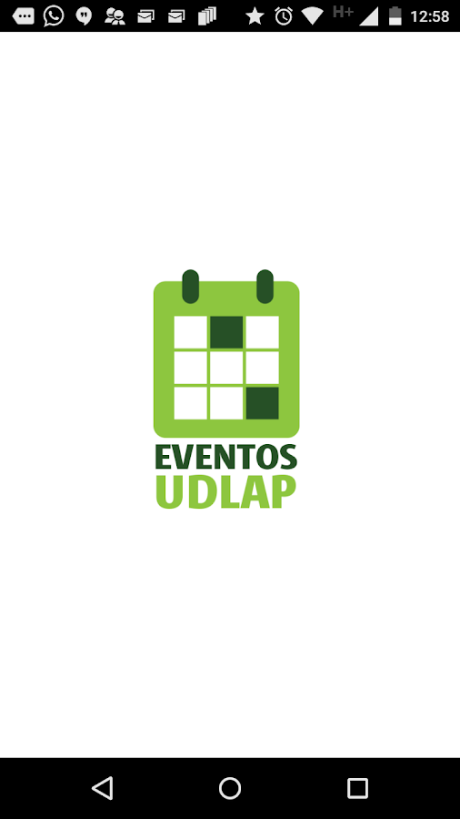 UDLAP Eventos- screenshot