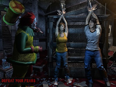 Horror Clown Survival Mod Apk 1.36 (Monster Does Not Automatically Attack) 8