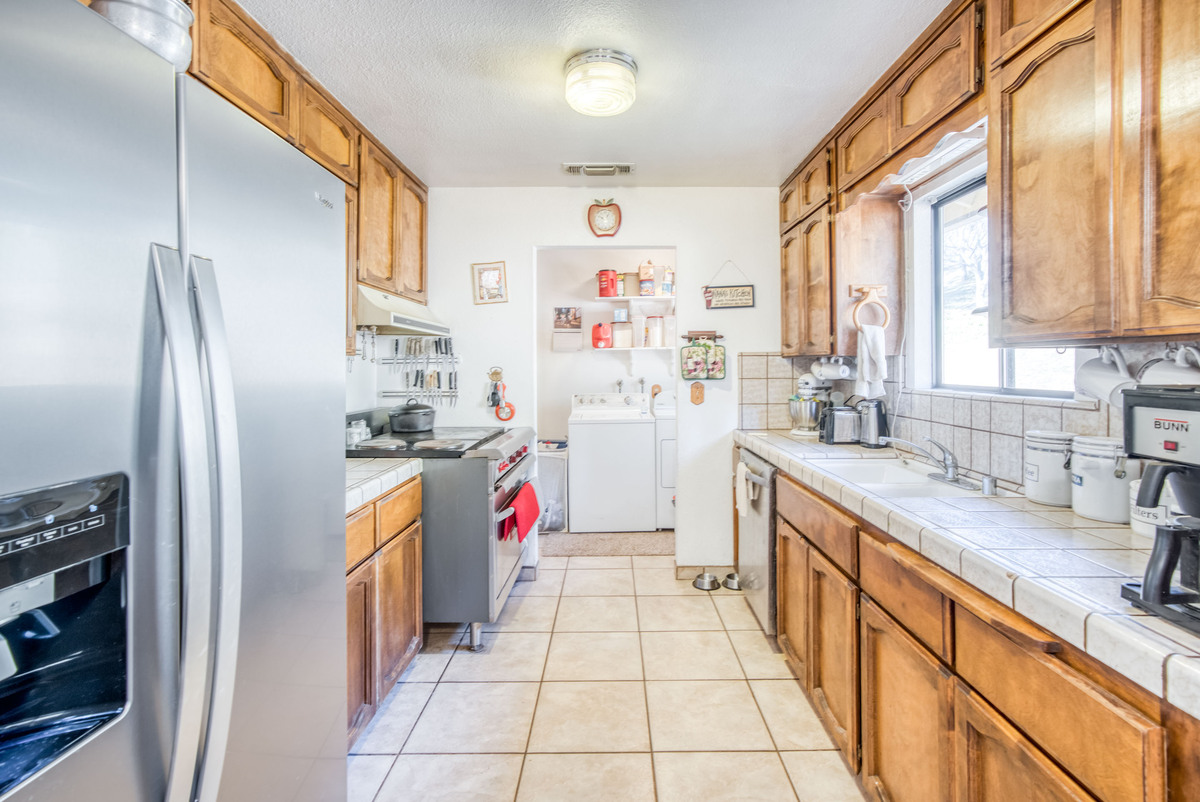 North Fork CA Homes for Sale - Enjoy the abundant storage spaces of the kitchen of this North Fork CA home.