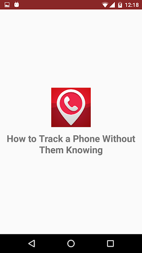TRACK A PHONE