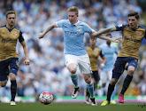 De Bruyne scoort, maar Manchester United is de winnaar na onderhoudende kraker tussen Manchester City en Arsenal