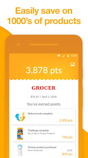 Fetch Rewards: Scan receipts, earn gift cards - Apps on