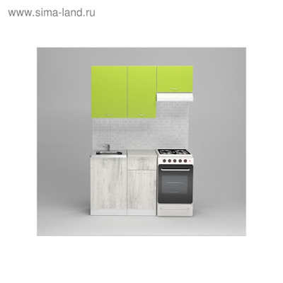 Кухонный гарнитур Илона медиум, 1400 мм