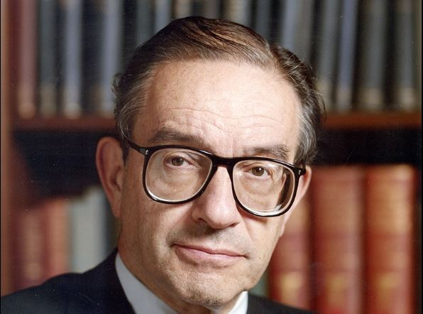 JAMIE MCGEEVER: Time to recall Greenspan's 'oasis of prosperity' warning
