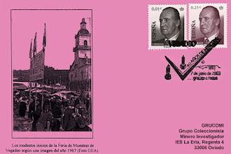 Photo: Matasellos de de los 40 años de la Feria de Vegadeo, 2003