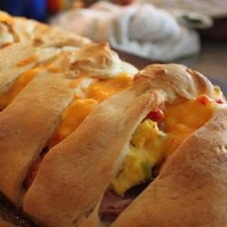 Ham Breakfast Braid