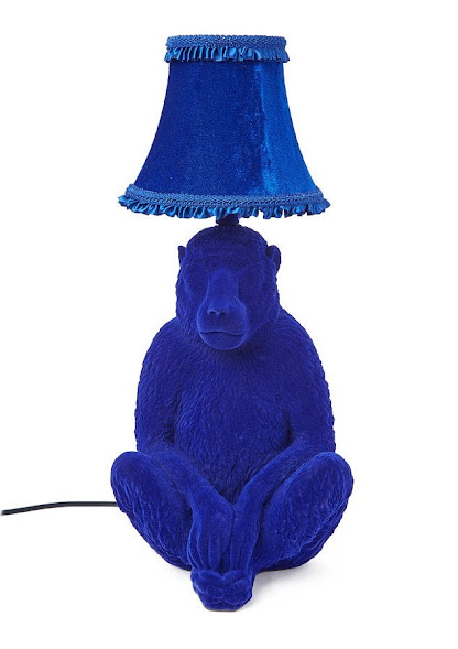 Monkey business: One of the beautifully bizarre lamps by Abigail Ahern Edition's for Debenhams