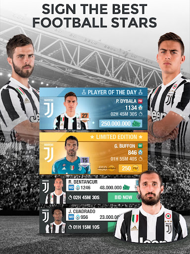 Juventus Fantasy Manager 2018 - EU champion league