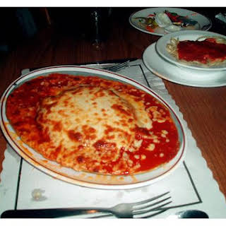 Veal Parmesan.