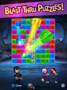 Hotel Transylvania Blast - Puzzle Game Screenshot