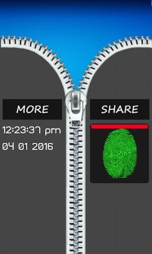 玩娛樂App|指紋拉鍊鎖惡作劇免費|APP試玩