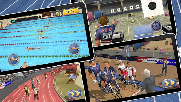Athletics 2: Summer Sports- screenshot