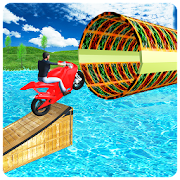 Game Water Games 3D: Stuntman Bike Water Stunts APK for Windows Phone