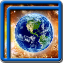 Earth & Space Live Wallpapers icon