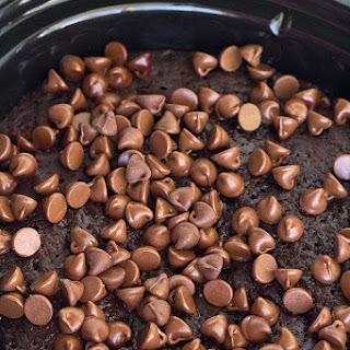 Slow Cooker Chocolate Lava Cake.